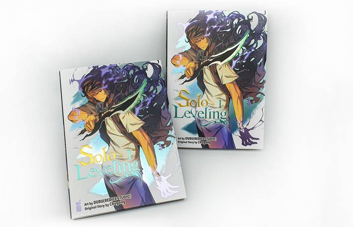 cover limited edition di Solo Leveling