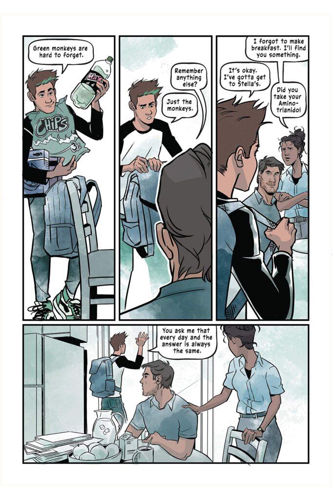 Pagina di Teen Titans: Beast Boy