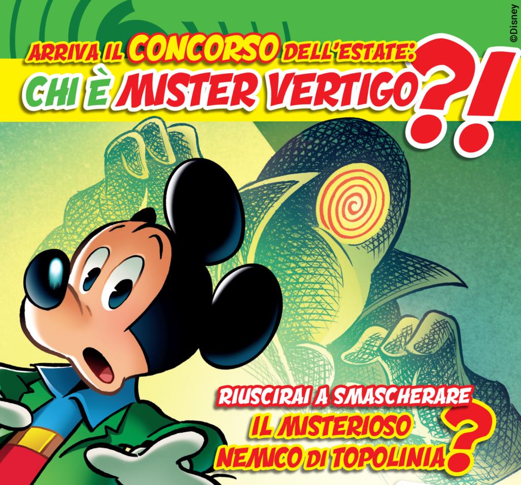 Topolino 3423 Mister Vertigo