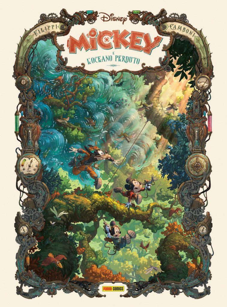 Cover di Mickey e l'Oceano Perduto